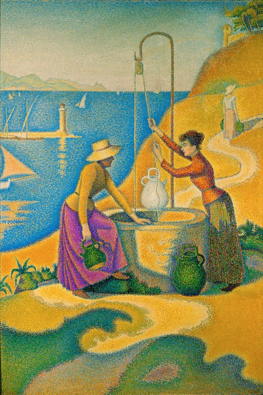 Signac, Vrouwen aan de waterbron