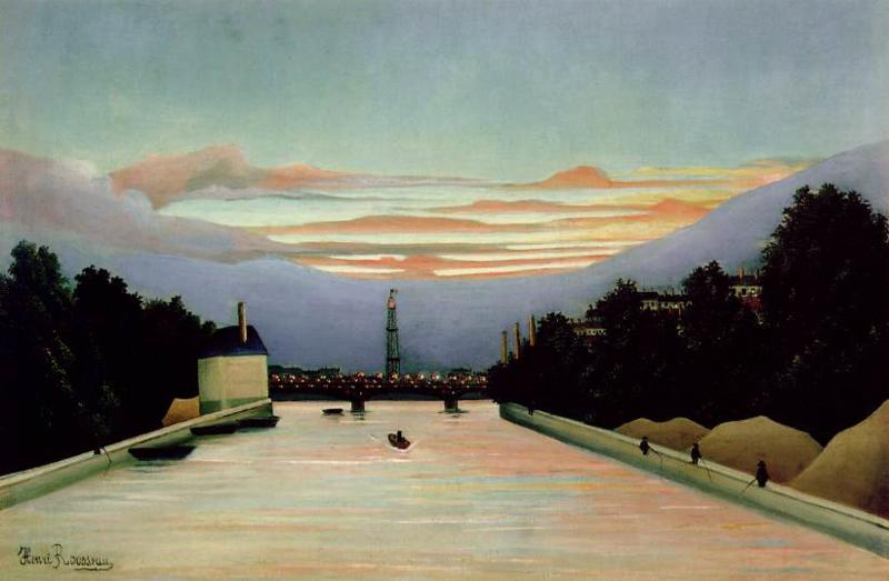 Rousseau, De Eiffeltoren