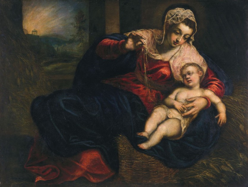 Tintoretto, Madonna en kind