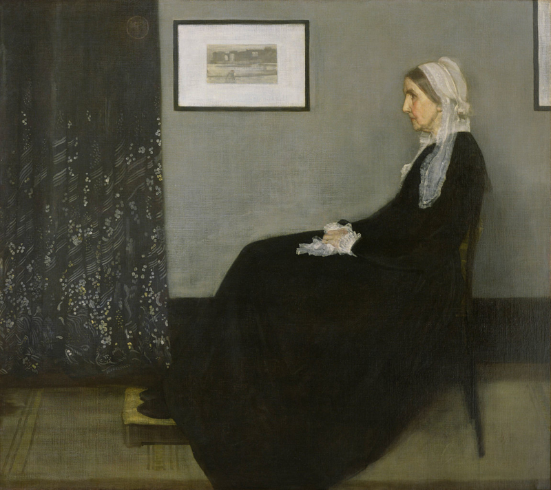 Whistler, Whistlers moeder