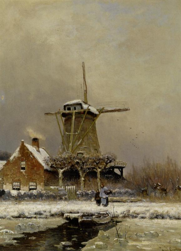 Apol, Figuren bij een windmolen