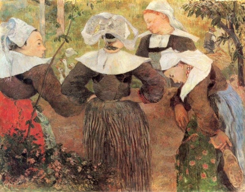 Gauguin, Bretonse meisjes