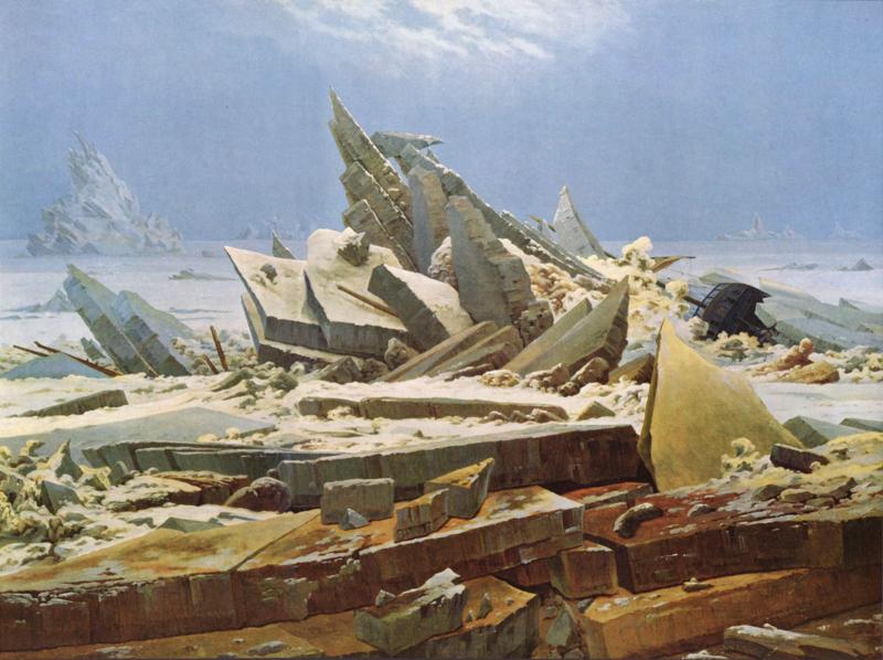 Friedrich, De ijszee