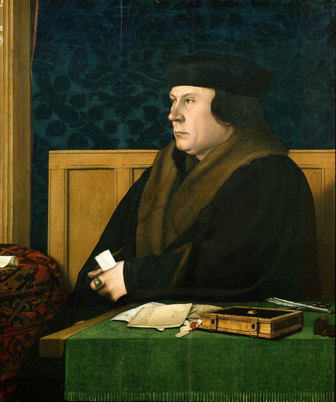 Holbein, Portret van Thomas Cromwell