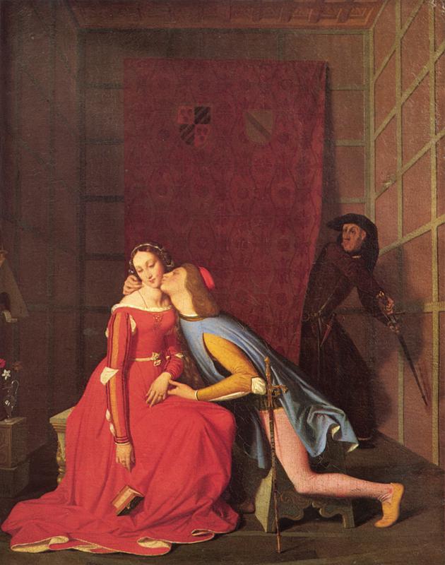Ingres, Paolo en Francesca