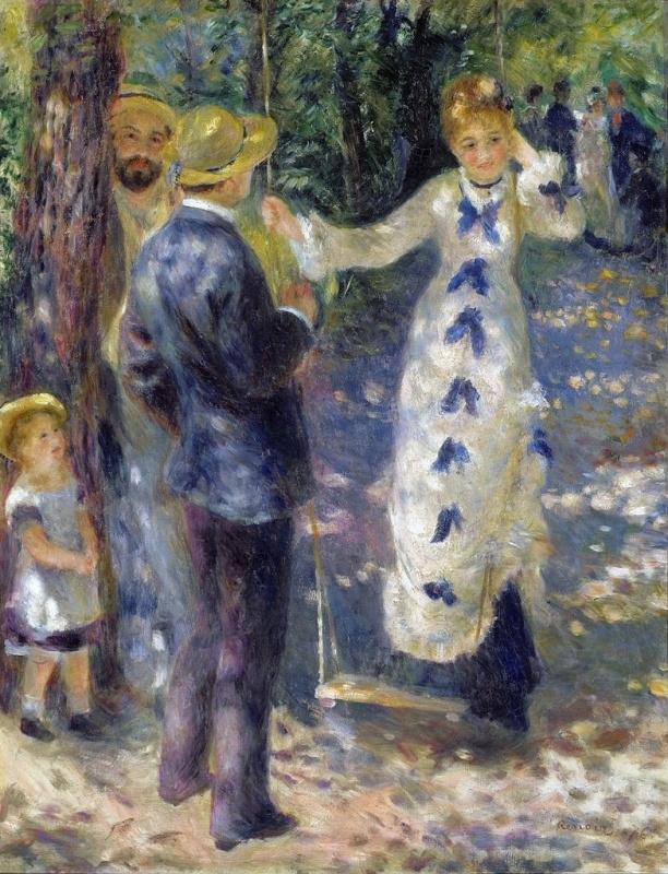 Renoir, Op de schommel