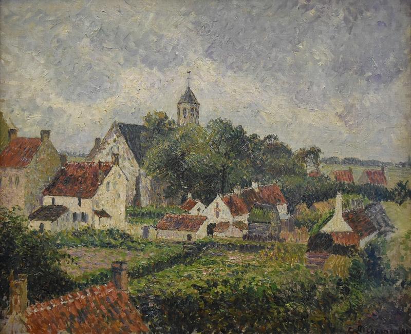 Pissarro, Het dorp Knokke