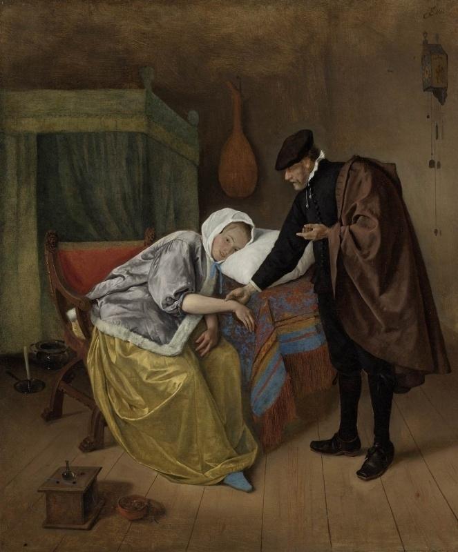 Steen, De zieke vrouw