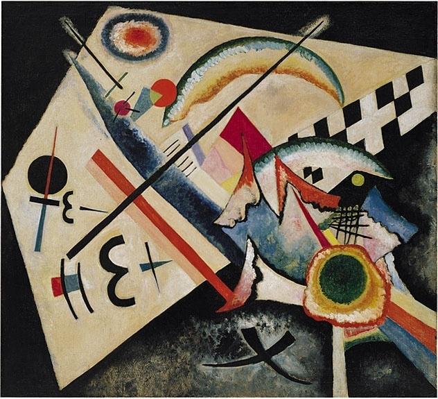 Kandinsky, Wit kruis