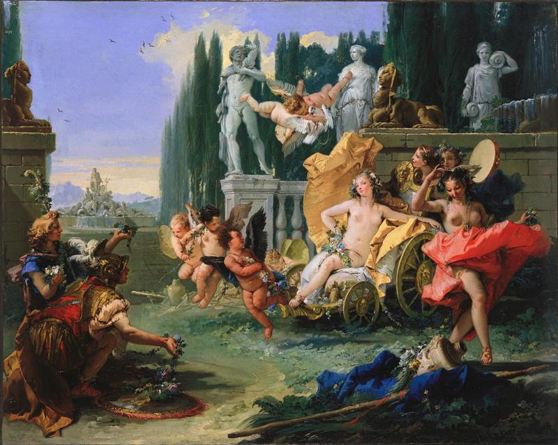 Tiepolo, Het rijk van Flora