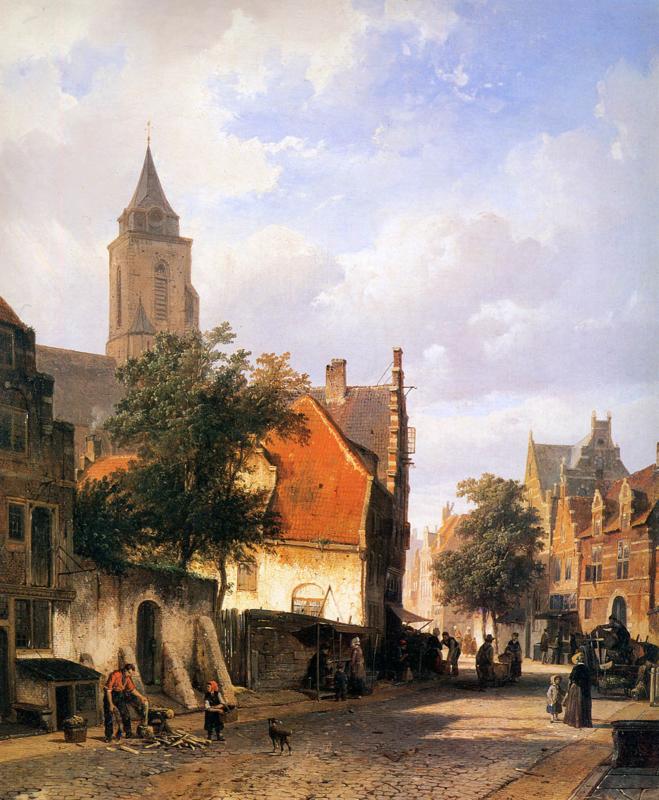 Springer, Kerk in Zaltbommel