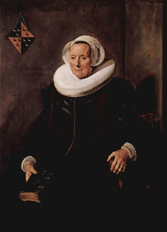 Hals, Portret van Maritge Claesdr Vooght