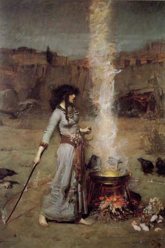 Waterhouse, Magische cirkel