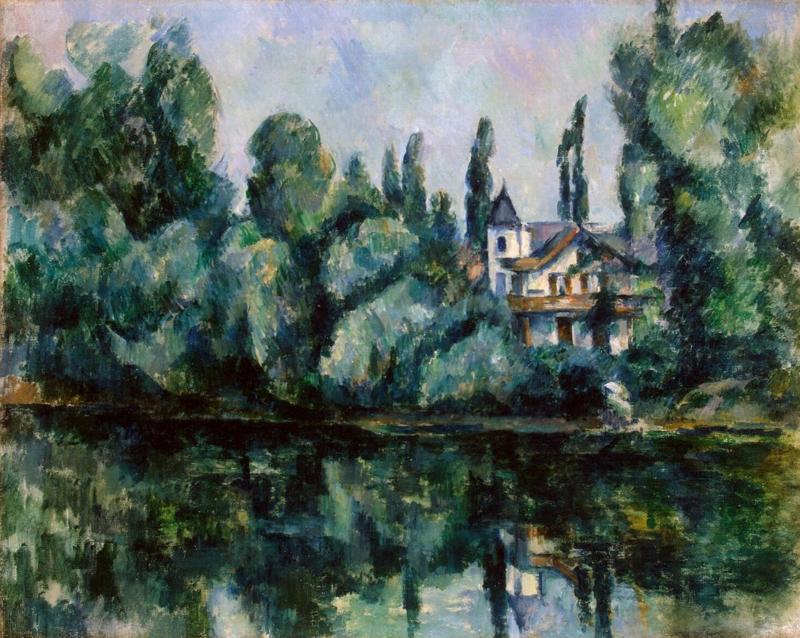 Cézanne, Oevers van de Marne