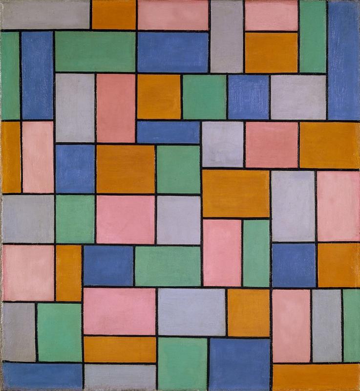 Van Doesburg, Compositie in dissonanten