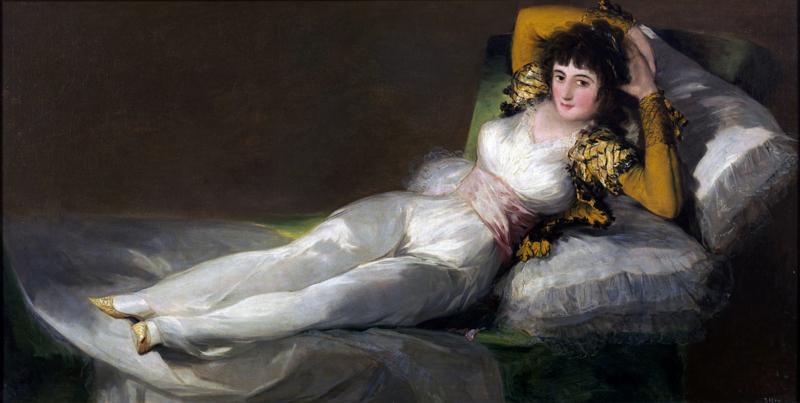 Goya, De geklede Maja