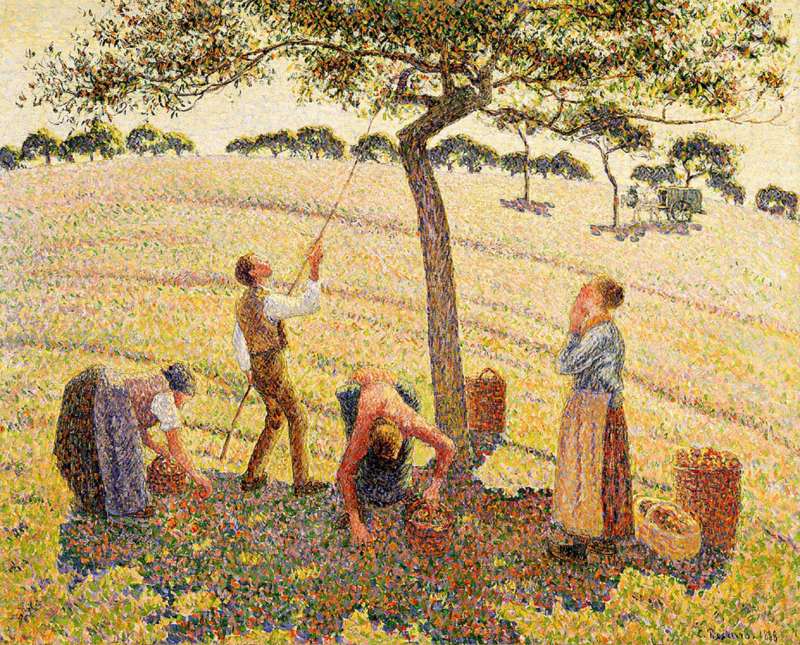 Pissarro, Appelpluk in Eragny sur Epte