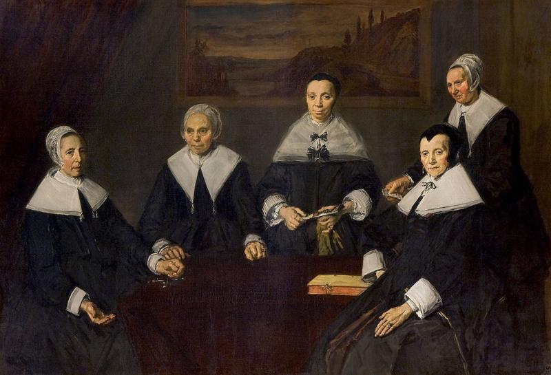 Hals, De regentessen van het oude mannenhuis in Haarlem