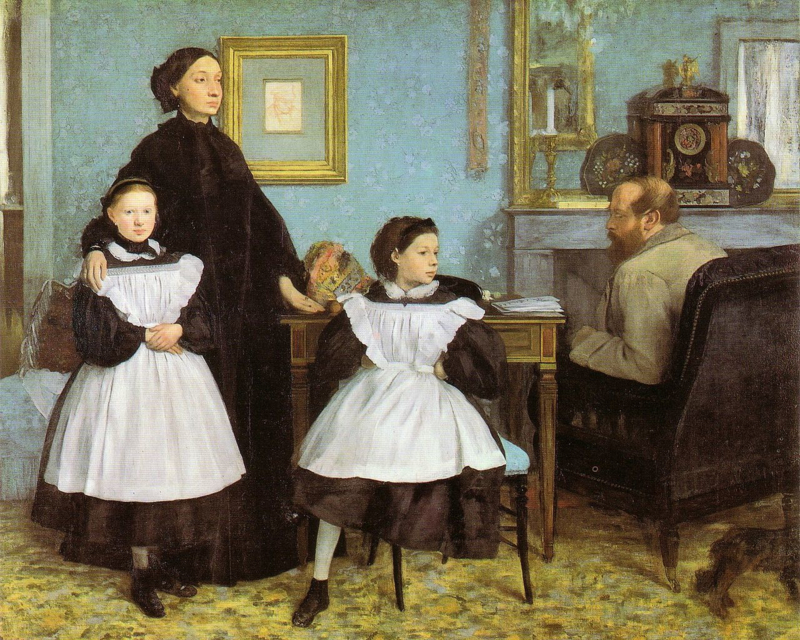 Degas, De familie Bellilli
