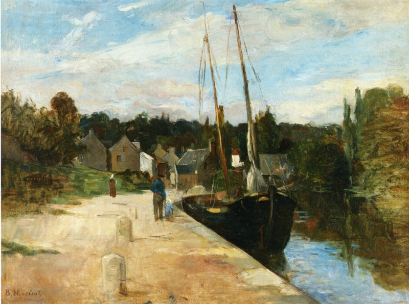 Morisot, Rosbras in Bretagne