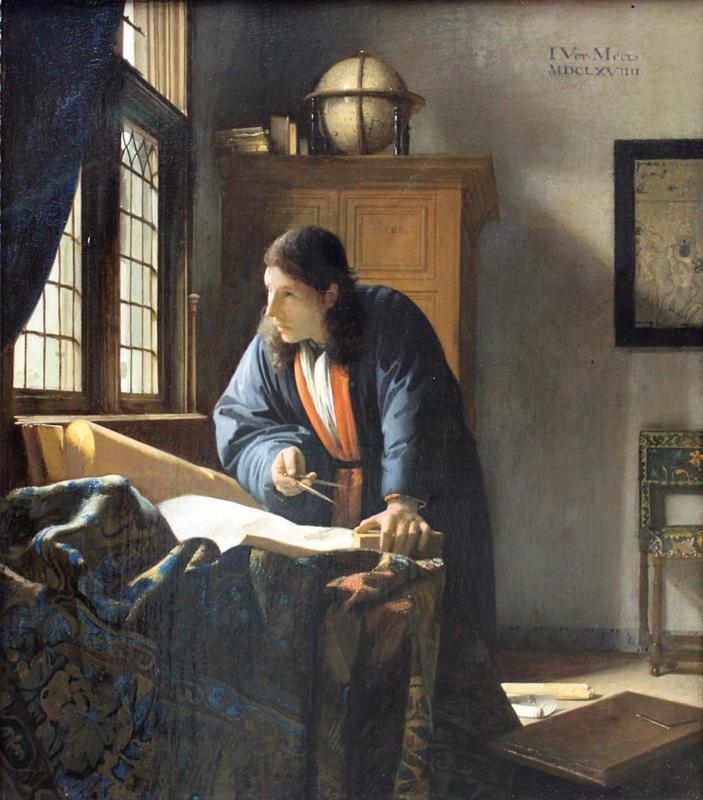 Vermeer, De geograaf