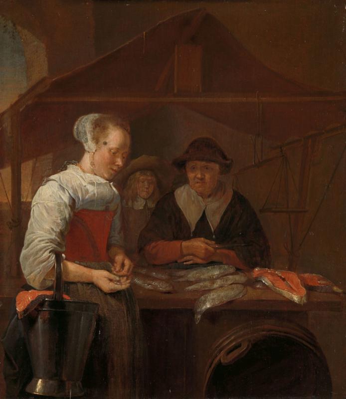 Van Brekelenkam, De visvrouw