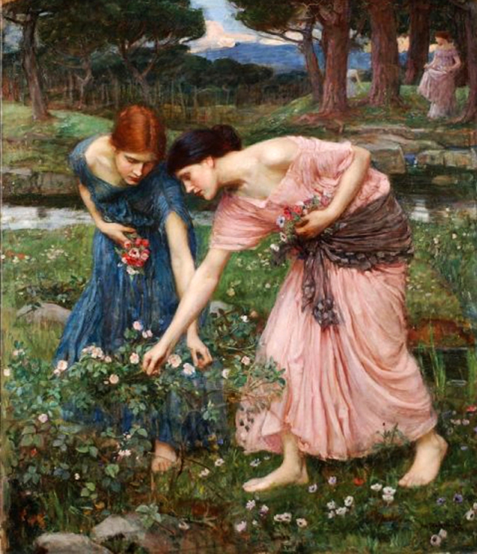 Waterhouse, Gather the rosebuds
