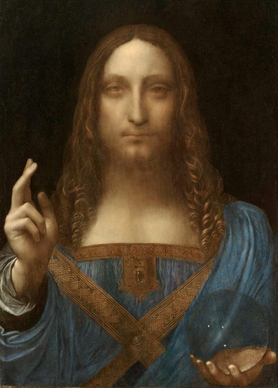 Da Vinci, Salvator Mundi