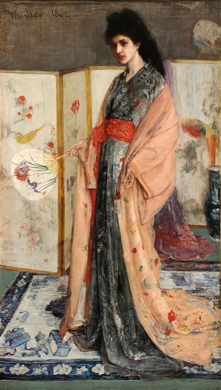 Whistler, Roze en zilver: de prinses van het land van porselein