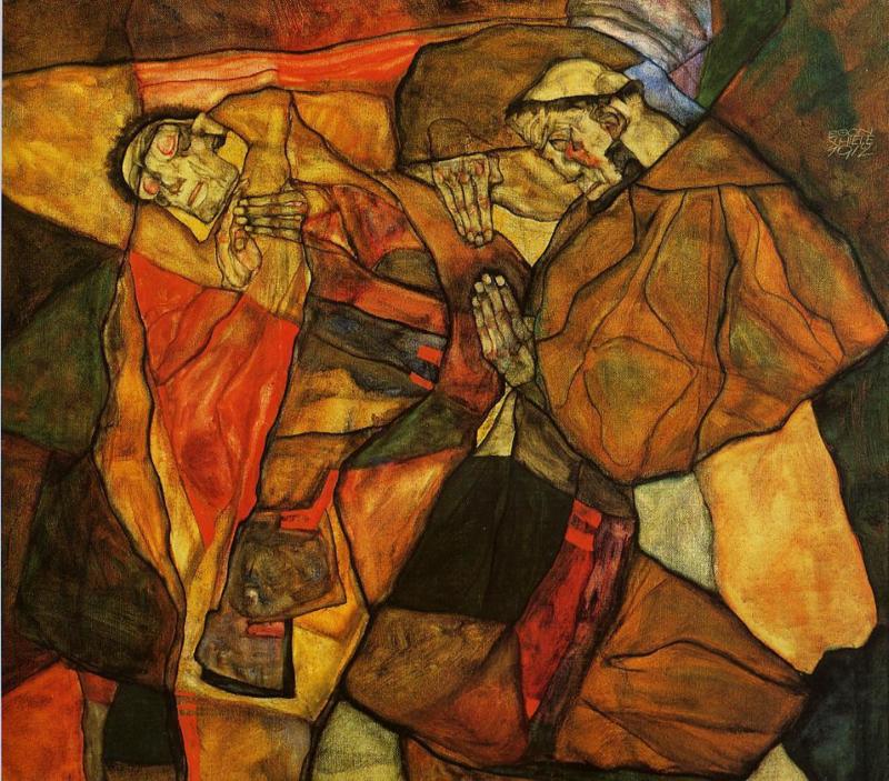 Schiele, Agonie