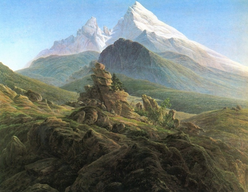 Friedrich, De Watzmann