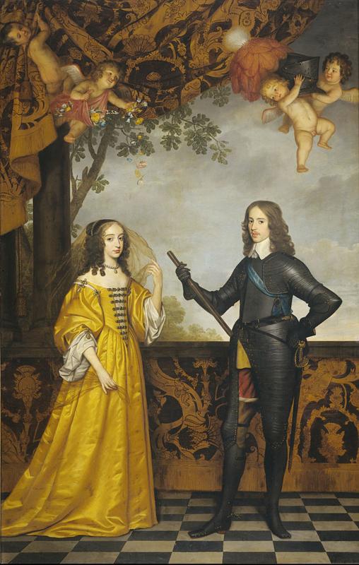 Van Honthorst, Willem II en Mary Stuart