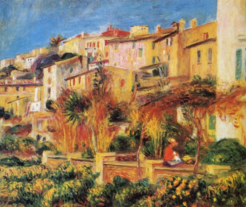 Renoir, Terras in Cagnes
