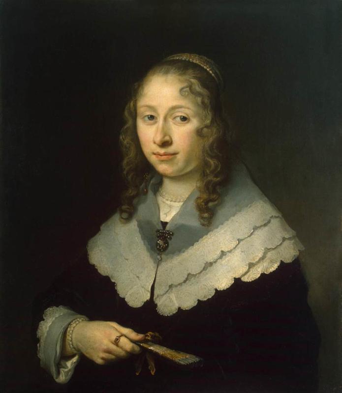 Flinck, Portret van een vrouw