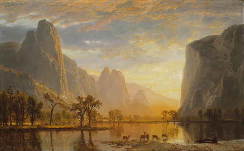 Bierstadt, Vallei van de Yosemite