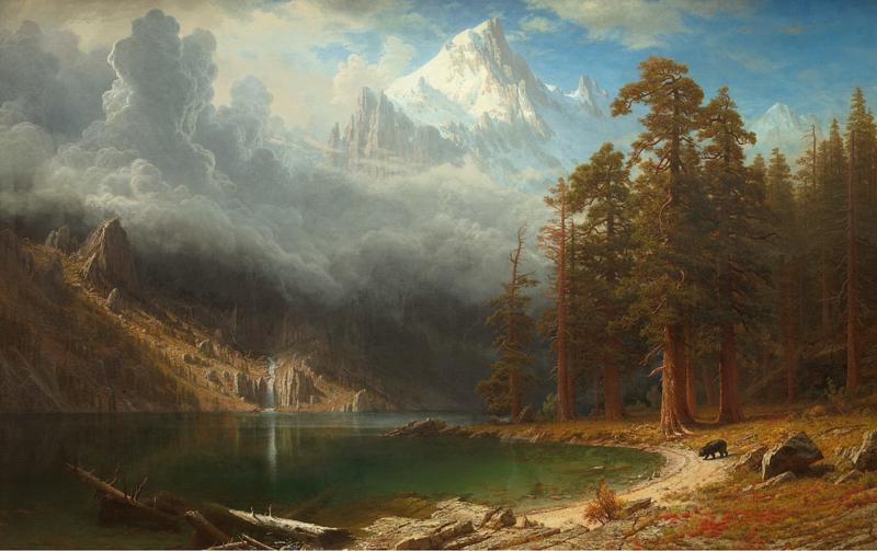 Bierstadt, Mount Corcoran