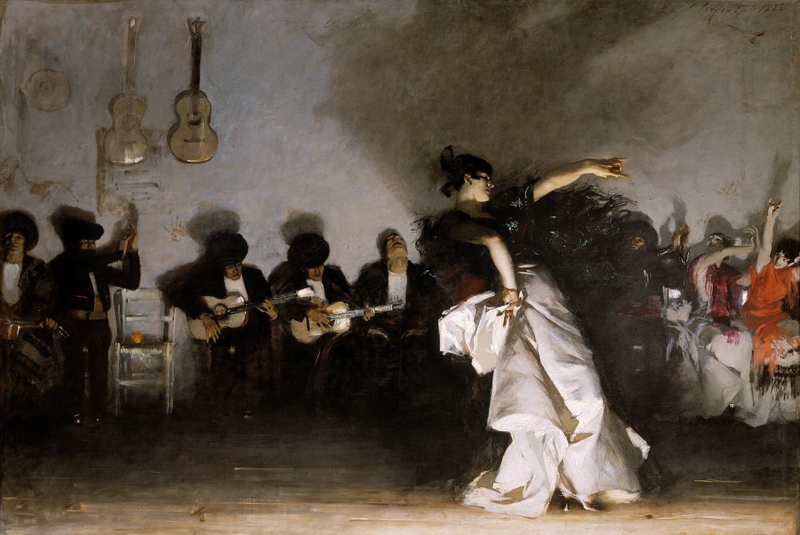 Sargent, Spaanse danseres (El Jaleo)