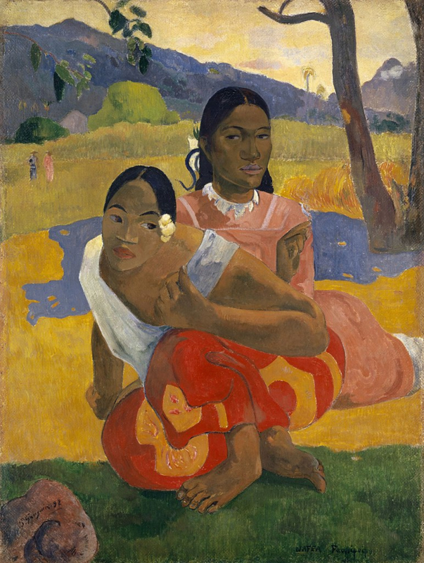 Gauguin, Nafea Faa Ipoipo? (Wanneer ga je trouwen?)