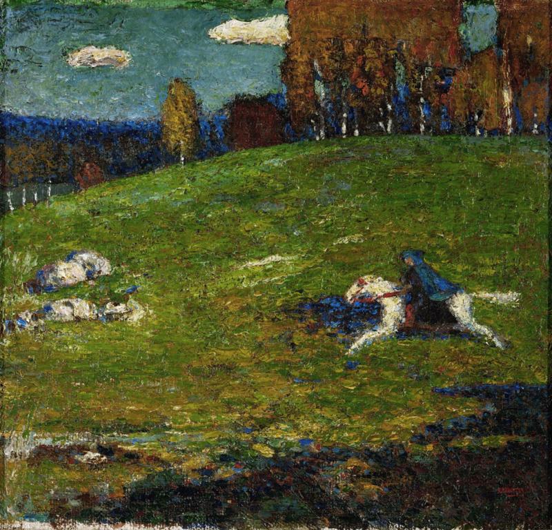 Kandinsky, De blauwe ruiter (der blaue Reiter)