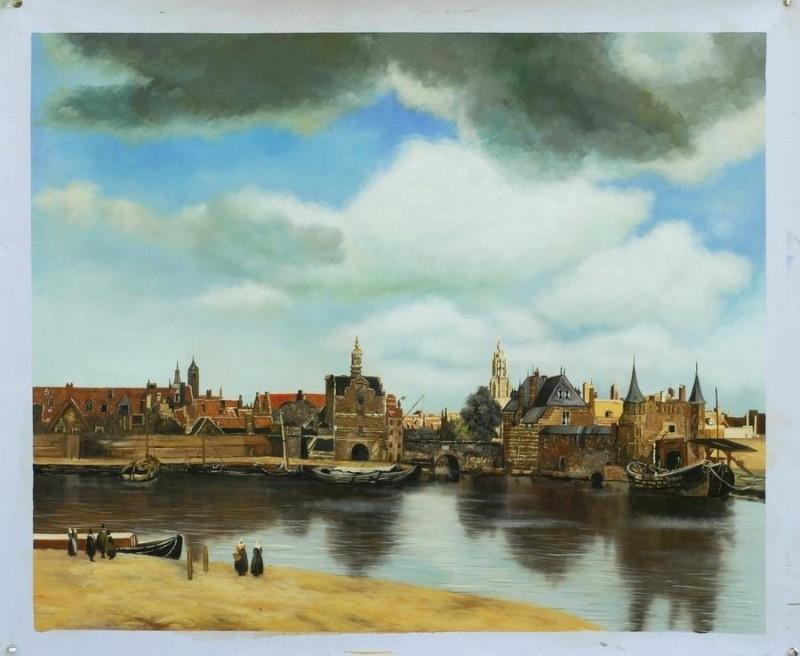 Vermeer, Zicht op Delft