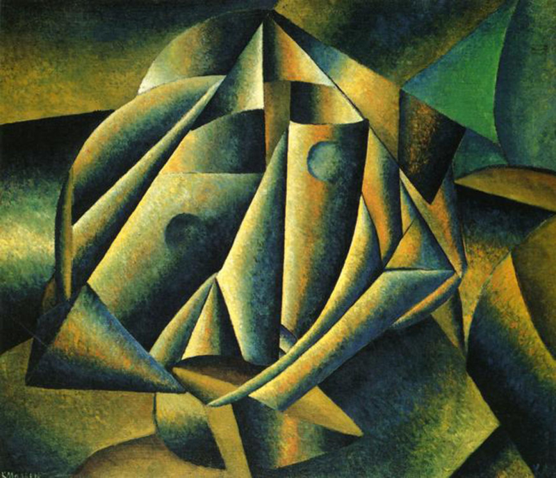 Malevich, Hoofd van een boerenmeisje