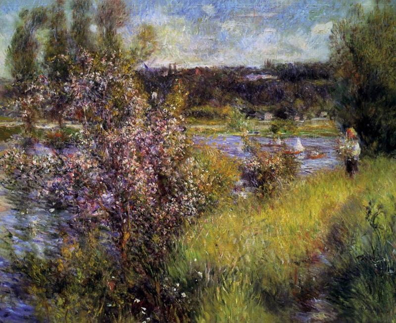 Renoir, De Seine bij Chatou