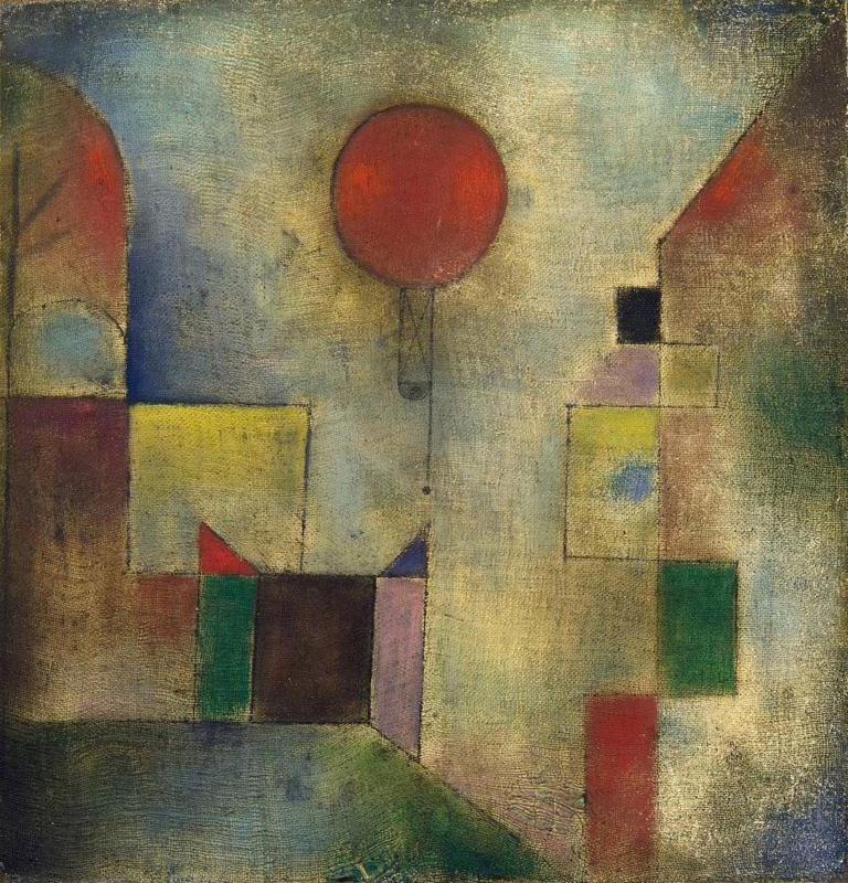 Klee, Rode ballon