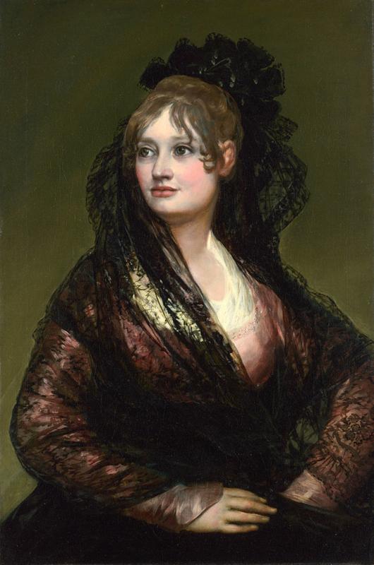 Goya, Donna Isabel de Porcel