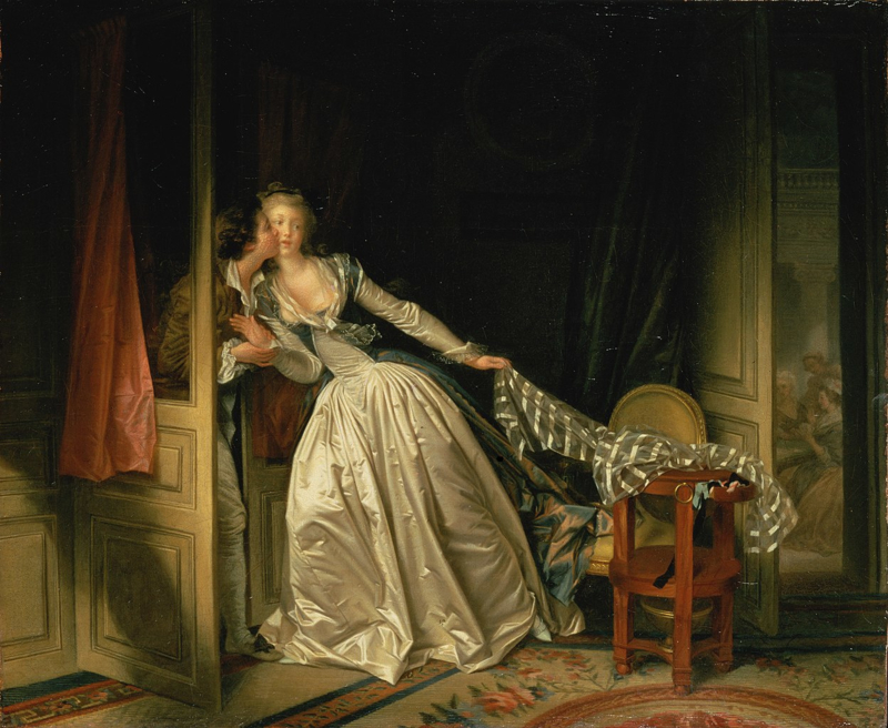 Fragonard, De heimelijke kus