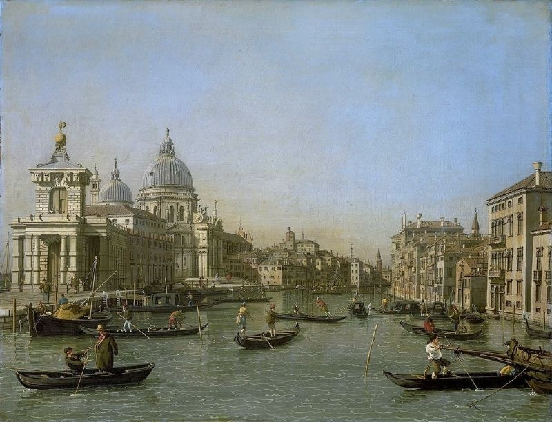 Canaletto, Grand Canal, Venetië