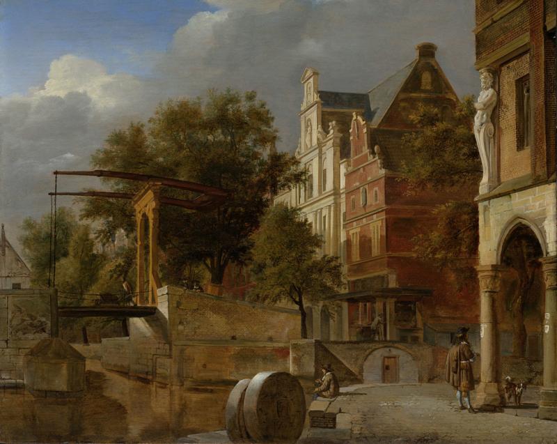 Van der Heyden, De ophaalbrug
