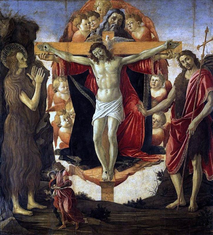 Botticelli, Heilige Drie-eenheid