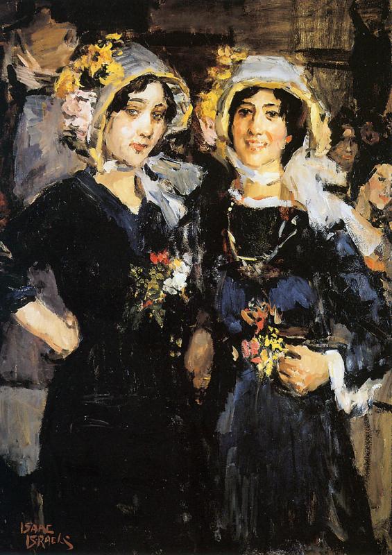 I. Israëls, Twee vrouwen, Chatherinettes
