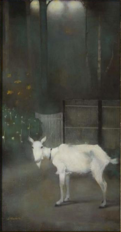 Mankes, De oude geit